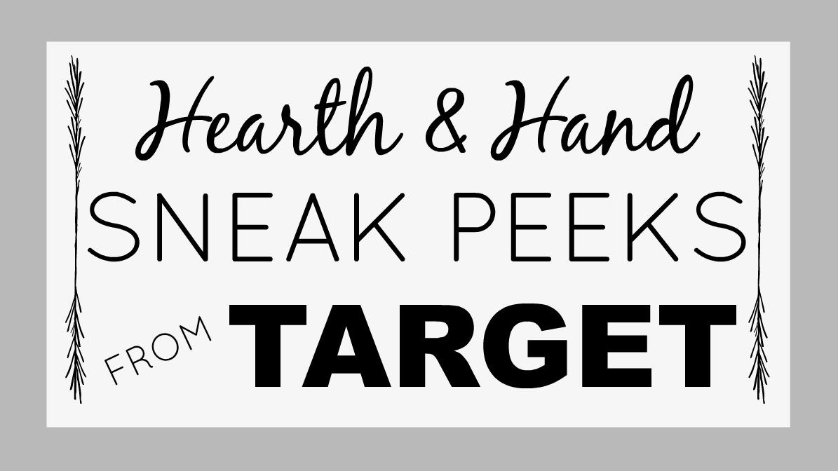 The Gaines' Hearth & Hand Target Sneak Peeks